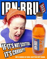 Irn-Bru Bar and a half