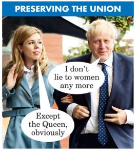 Boris Johnson Preserving the Union