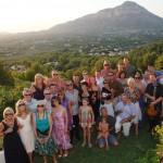 Summer party in Javea Spain